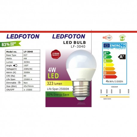 Bec LED Foton