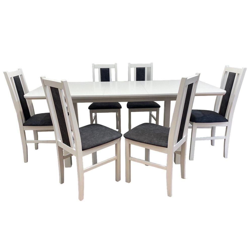 scaun living hm nikko nuc inchis culoare-nuc