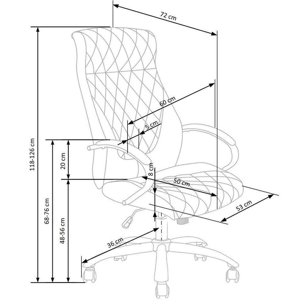 Scaun ergonomic mesh Zen albastru - negru Albastru
