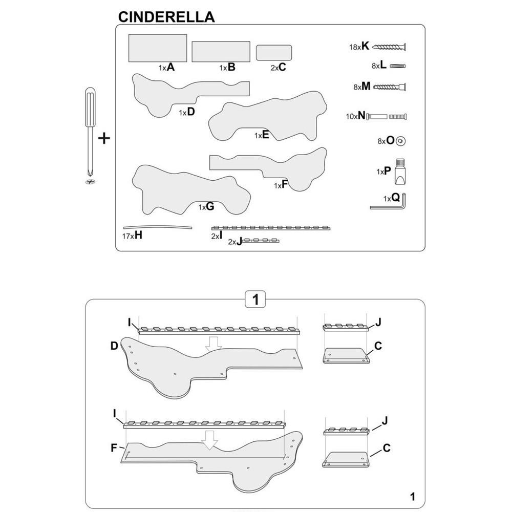 scaun living hm k201 negru negru