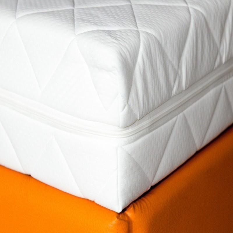 set saltea pegas comfort flex 160x200 plus 2 perne ortopedice memory sb 52x32 cm
