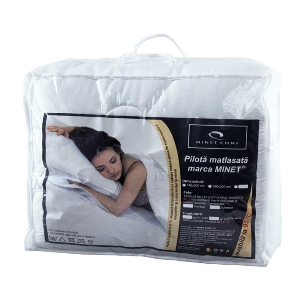 set saltea terra spring comfort 160x200 plus husa hipoalergenica