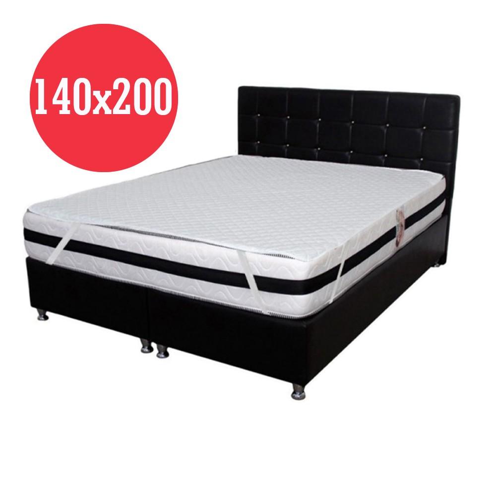 set saltea terra spring comfort 180x200 plus 2 perne microfibra 50x70