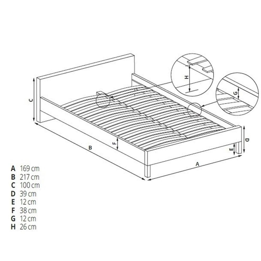 Set Saltea Mercur Comfort Flex Plus 140x200 Plus P