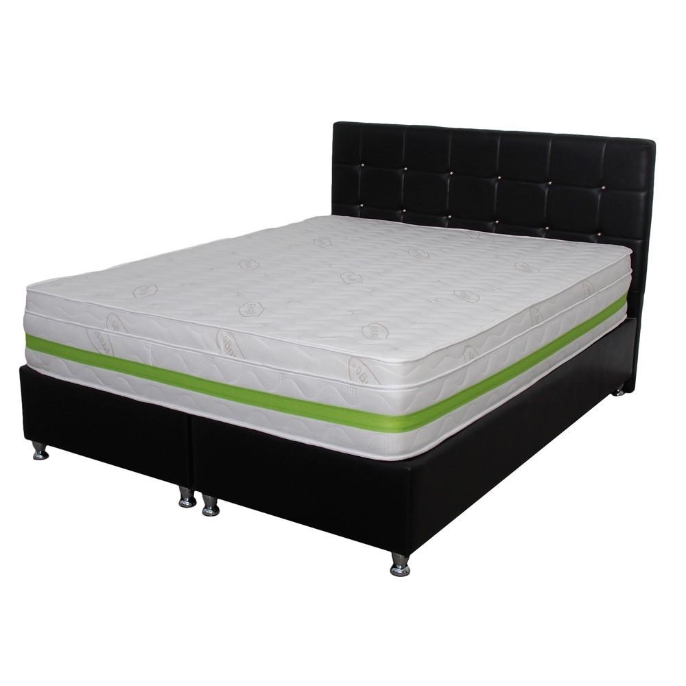 set saltea hermes super high comfort 180x200 plus 2 perne microfibra 50x70