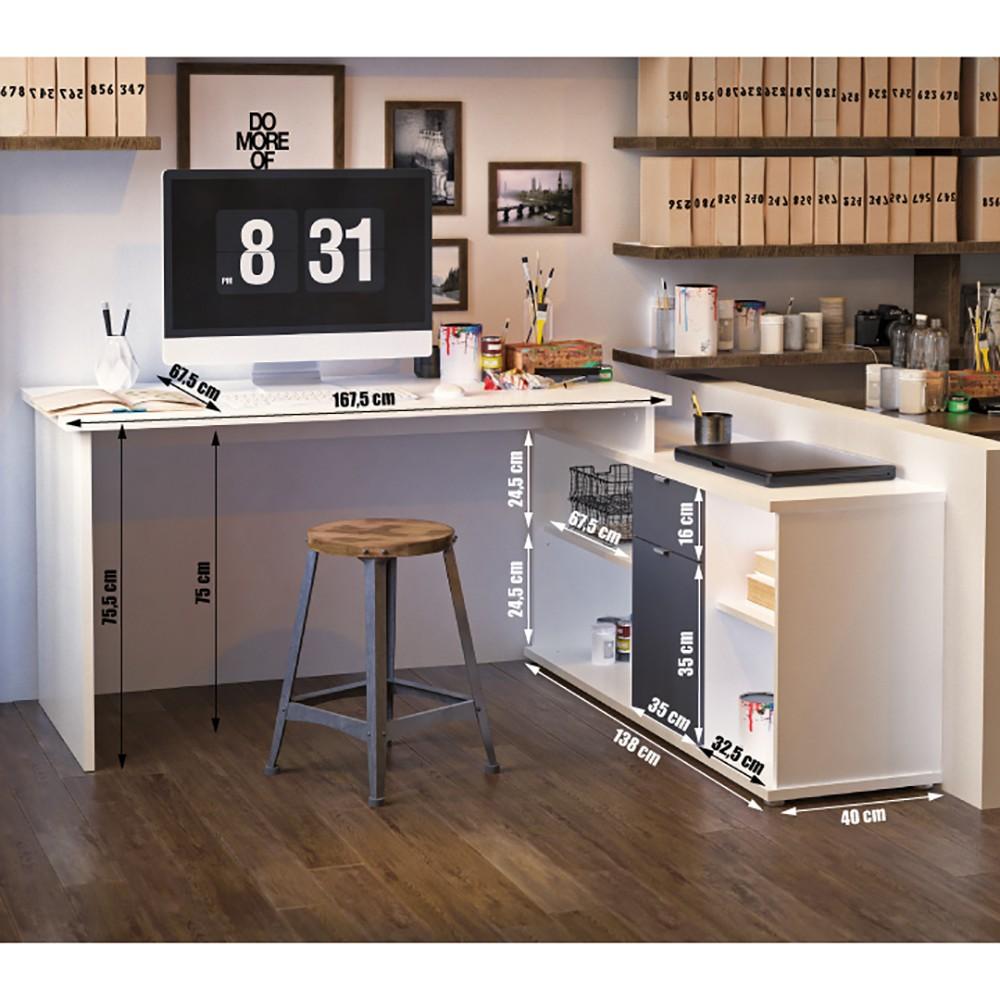 scaun directorial stofa 5900 albastru