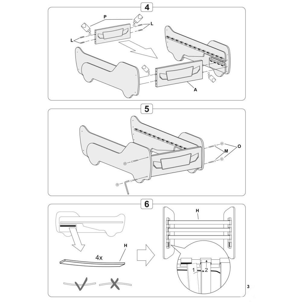scaun vizitator 5950 s negru negru