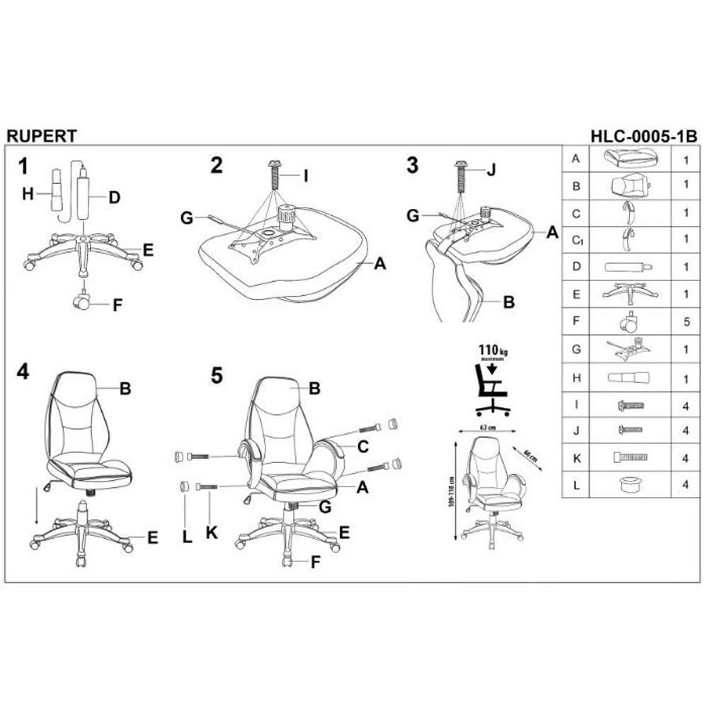 scaun living sl enzo roz roz