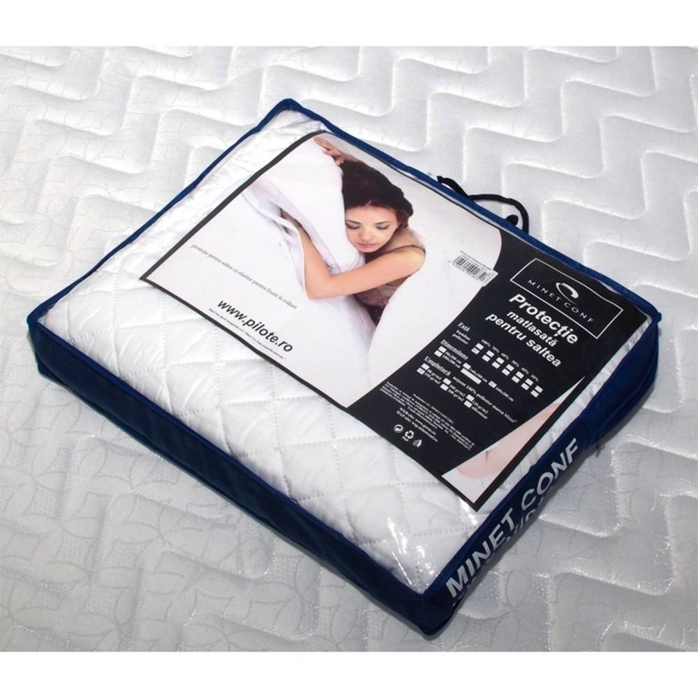 set saltea pluto spring comfort 160x200 plus 2 perne ortopedice memory sb 52x32 cm